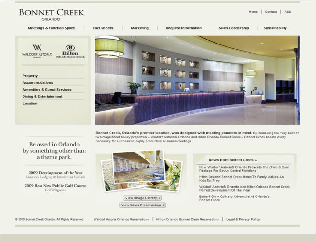Case Study - Bonnet Creek Orlando